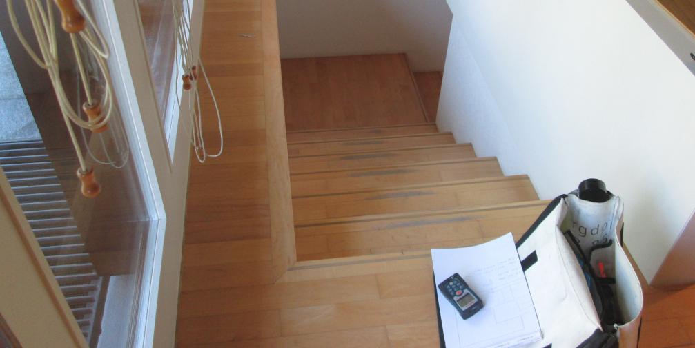 Parkett-Holztreppe renovieren