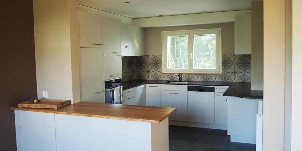 Neue Küche nach Umbau