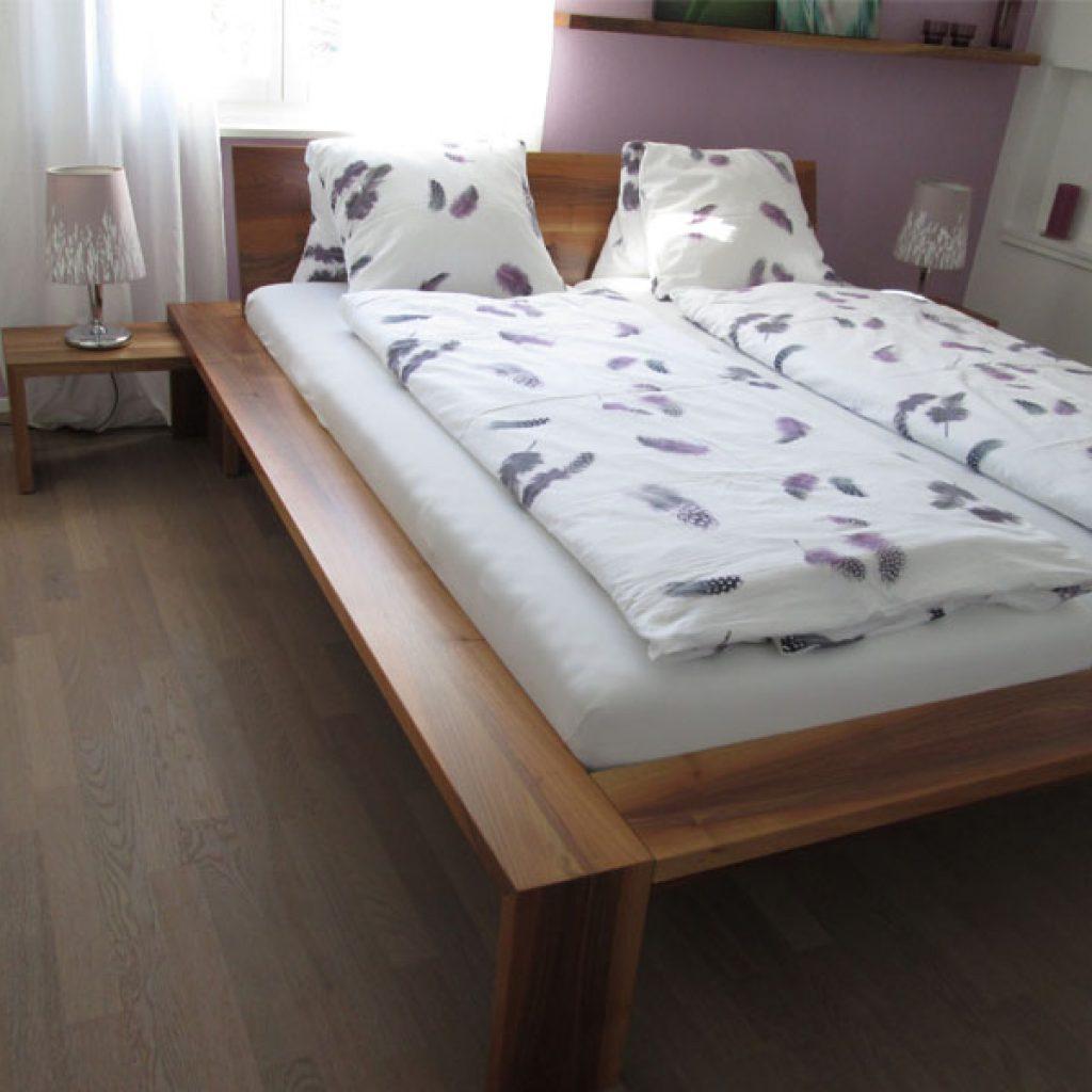 Doppelbett Holz