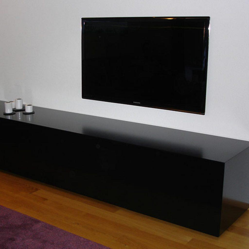 Sideboard in Schwarz
