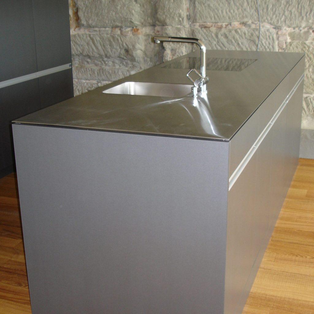 Küche Altbauwohnung Sandstein