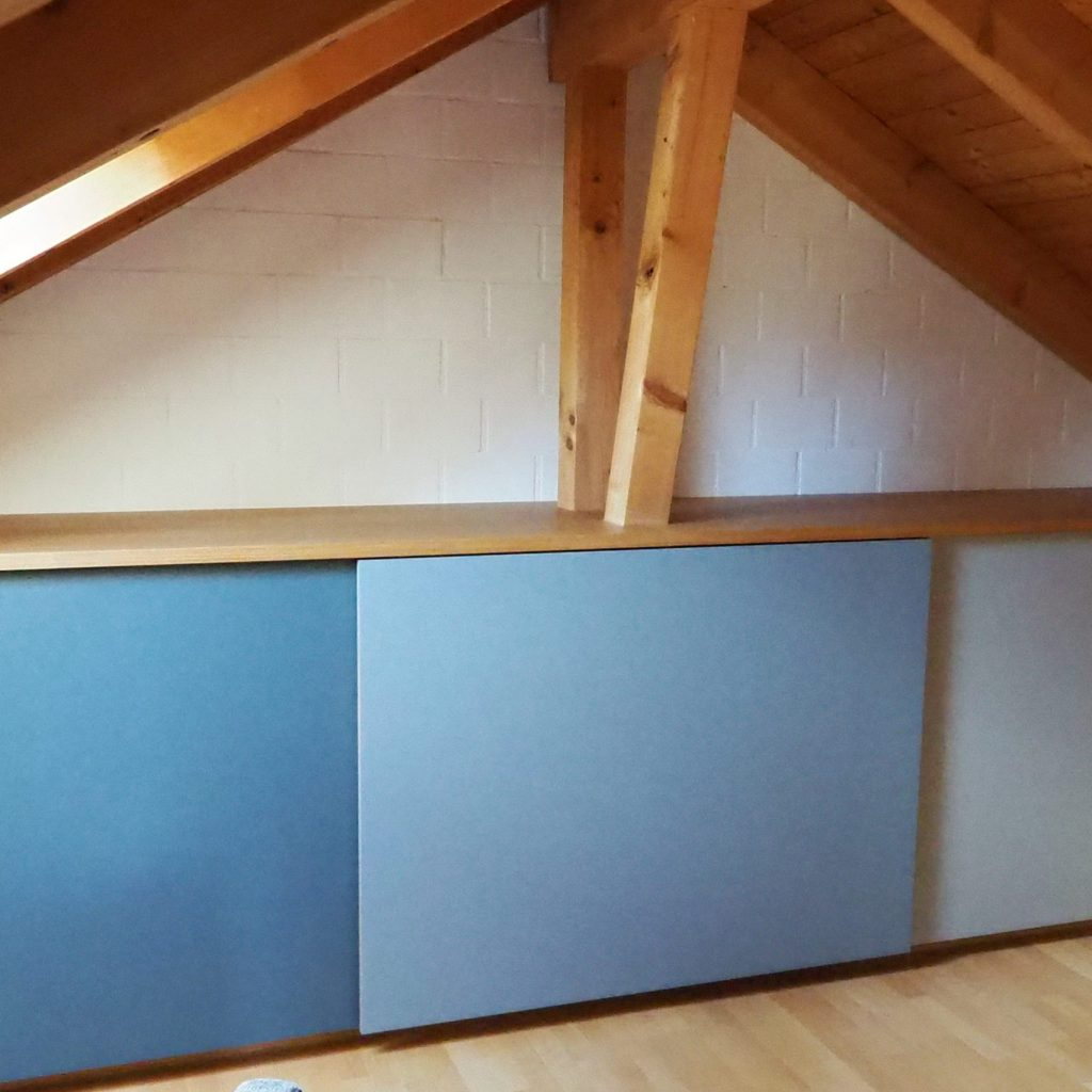 Sideboard Lino Blautöne