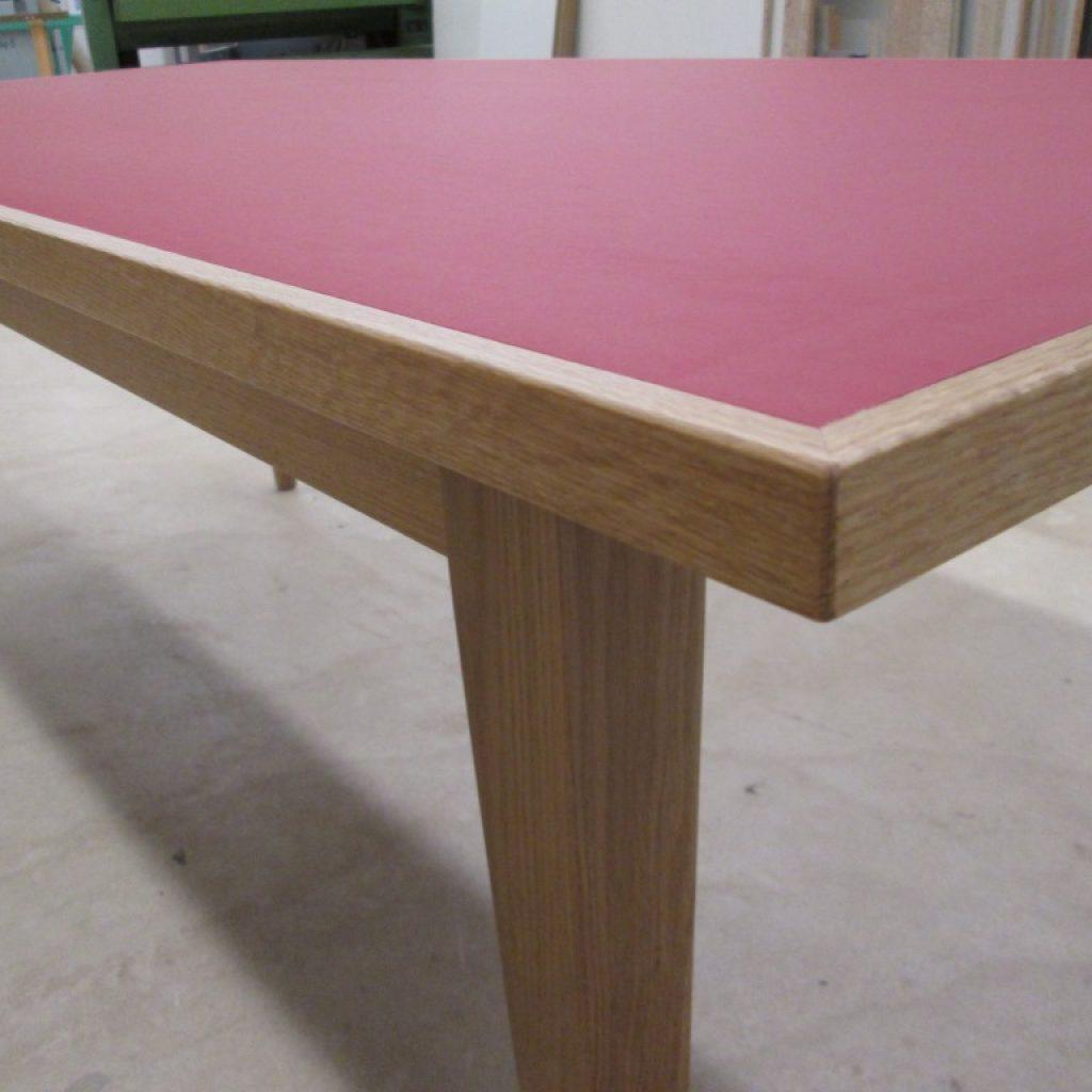 Tisch Lino Rot